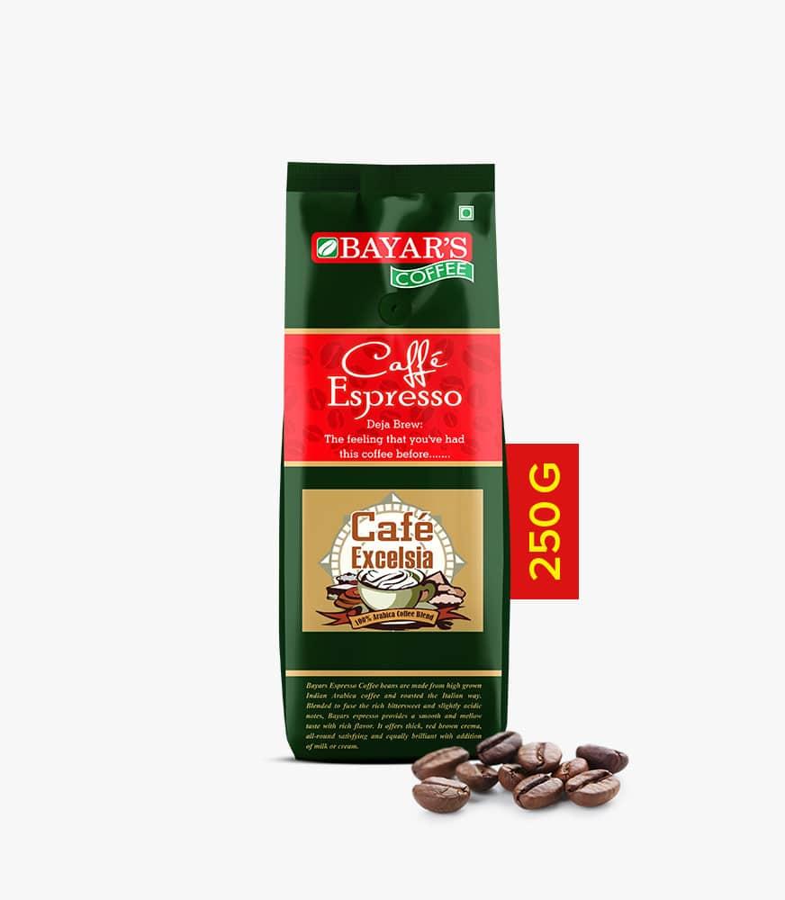 Bayar's Cafe Espresso - Cafe Excelsia 250g Espresso Coffee