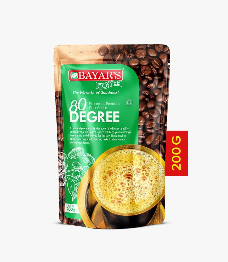 Bayar's Coffee 80 degree 200g front new Vatitude