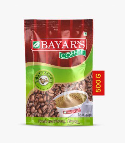Bayars 80 degree500g front