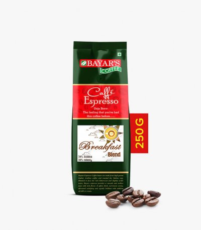 Bayar's Cafe Espresso - Breakfast Blend_250g Beans