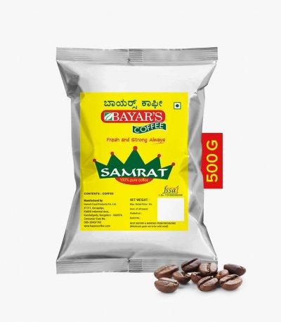 Bayars Samrat Coffee Beans 500g