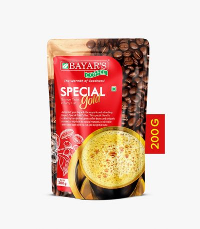 Bayar's Coffee Special Gold 200g front new Vatitude